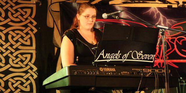 Angels of Seven zusammen mit Sandra Patsis.
